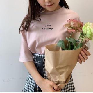 LaraロゴTシャツ(Tシャツ(半袖/袖なし))