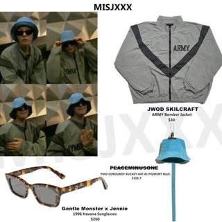ピースマイナスワン(PEACEMINUSONE)のジヨン着用 SKILCRAFT ARMY Bomber Jacket(ブルゾン)