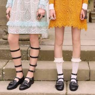グッチ(Gucci)のGUCCI  グラディエーター 35(ローファー/革靴)