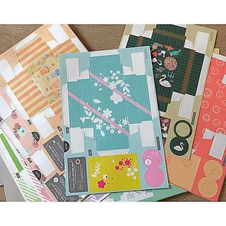 フェリシモ(FELISSIMO)のコレクションボックス20枚セット(ラッピング/包装)