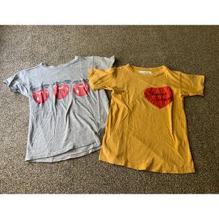 ゴートゥーハリウッド(GO TO HOLLYWOOD)のgotohollywood130Tシャツ2点セットデニム&ダンガリー(Tシャツ/カットソー)