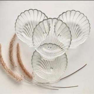 ザラホーム(ZARA HOME)のアンティーク❁シェルのお皿4点set(食器)