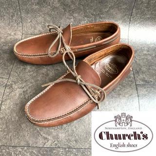 チャーチ(Church's)の極美品❗️希少❗️《Church's》ドライビングシューズ6.5F(スリッポン/モカシン)