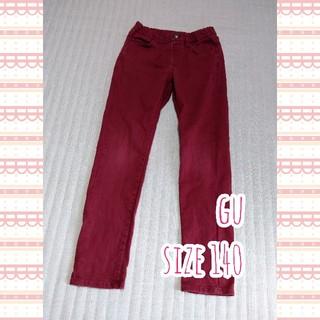 ジーユー(GU)のGU スリムパンツ&ロンT size 140(その他)