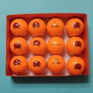 ダンロップ(DUNLOP)のXXIOスーパーXD+ゴルフボールオレンジ1ダース(その他)