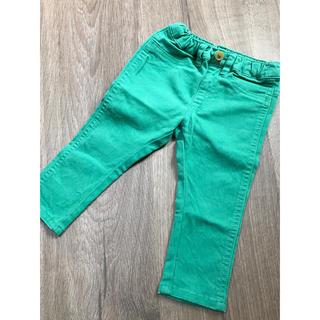 アンパサンド(ampersand)のカラーパンツ グリーン 80cm(パンツ)