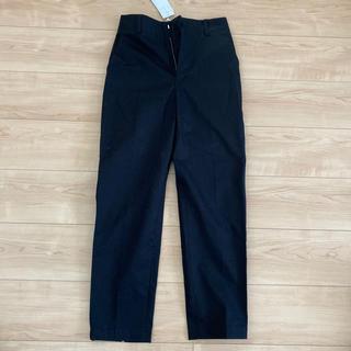 ルシェルブルー(LE CIEL BLEU)のルシェルブルー 黒パンツ 新品タグ付き(カジュアルパンツ)