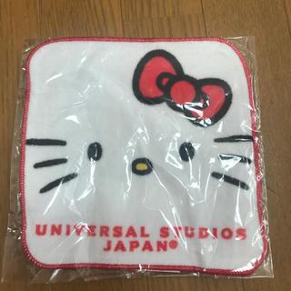 ユニバーサルスタジオジャパン(USJ)のユニバ限定!キティ🎀ハンドタオル(ハンカチ)