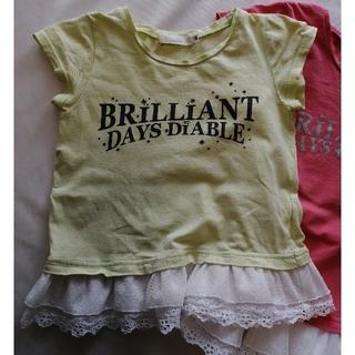 ディアブル(Diable)の女児 100 Tシャツ(Tシャツ/カットソー)