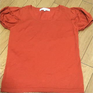 エムプルミエ(M-premier)のエムプルミエ パフスリーブニット(ニット/セーター)