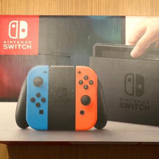 ニンテンドウ(任天堂)の即日発送可 Nintendo Switch 本体 プロコン付(家庭用ゲーム機本体)