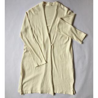 エヴァムエヴァ(evam eva)のdry cotton robe(カーディガン)