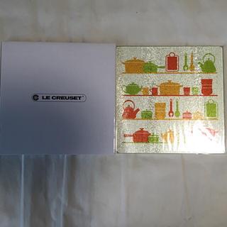 ルクルーゼ(LE CREUSET)のル・クルーゼ ガラスキッチンプレート(キッチン小物)