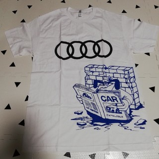 AUDI - Shinknownsuke Audi Tee Fat Cut Press 非売品