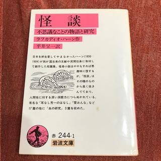 イワナミショテン(岩波書店)の「怪談 不思議なことの物語と研究」(文学/小説)