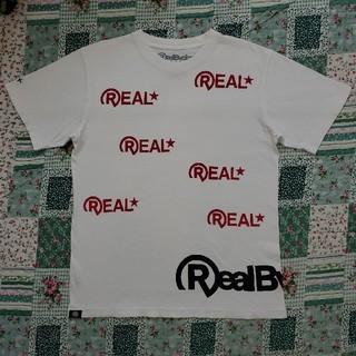 リアルビーボイス(RealBvoice)のReal Bvoice Tシャツ メンズ Mサイズ(大きめ)(Tシャツ/カットソー(半袖/袖なし))