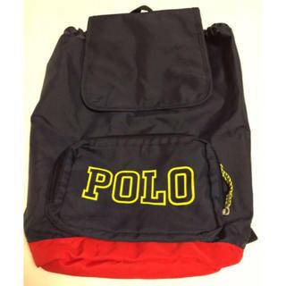 ポロラルフローレン(POLO RALPH LAUREN)のポロ ラルフローレン バックパック 未使用 ネイビー リュックサック(リュックサック)
