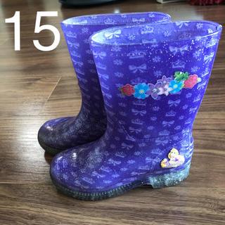 ディズニー(Disney)のラプンツェル長靴15(長靴/レインシューズ)