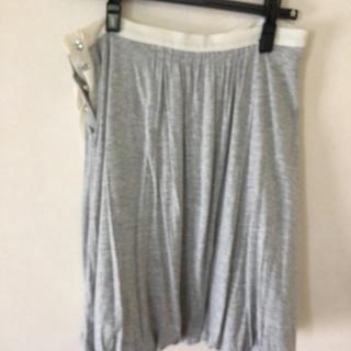 エムケーミッシェルクラン(MK MICHEL KLEIN)のコットン バルーンスカート(ひざ丈スカート)
