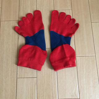 クツシタヤ(靴下屋)のtabio ランニング ソックス 5本指 タビオ L(その他)