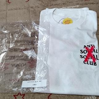 アンチ(ANTI)のanti social socialCLUB Tシャツ白(Tシャツ/カットソー(半袖/袖なし))