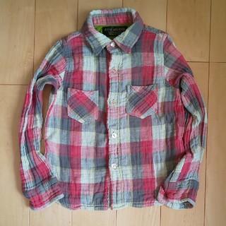 フィス(FITH)のFITH チェックシャツ 120(ブラウス)