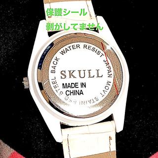 スカルシット(SKULL SHIT)の💎SKULL💎アナログ腕時計 《新品》(腕時計(アナログ))