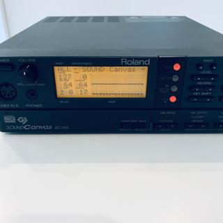 Roland Sound Canvas SC-88(音源モジュール)