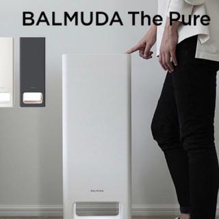 バルミューダ(BALMUDA)の新品•未使用 BALMUDA THE PURE ダークグレー 空気清浄機(空気清浄器)