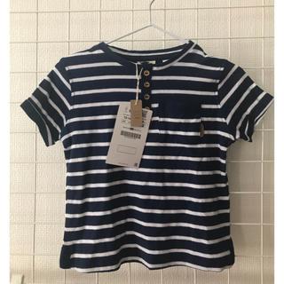 ザラ(ZARA)の新品 タグ付き ZARA ベビー キッズ  ボーダーTシャツ 86cm(Tシャツ)