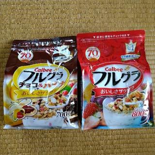 カルビー(カルビー)の新品 カルビー フルグラ チョコ&バナナ (米/穀物)