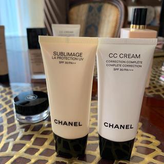 シャネル(CHANEL)のシャネル CCクリームとサブマリージュ ラ プロテクシオンUV(BBクリーム)