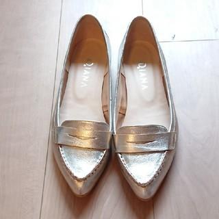 ダイアナ(DIANA)の【DIANA】シルバーローファー 25cm(ローファー/革靴)