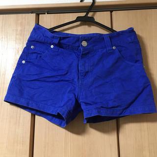 ローリーズファーム(LOWRYS FARM)の青の短パン(パンツ/スパッツ)