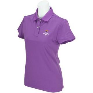 キャロウェイゴルフ(Callaway Golf)のCallaway キャロウェイ 高機能 レディスポロシャツ サイズM(ウエア)