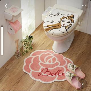 ディズニー(Disney)のお値下げ❣️未開封❣️ディズニー温水便座用トイレマットセット(トイレマット)