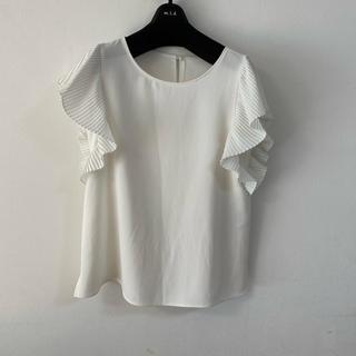 エムプルミエ(M-premier)のエムプルミエブラック ブラウス 38(シャツ/ブラウス(半袖/袖なし))