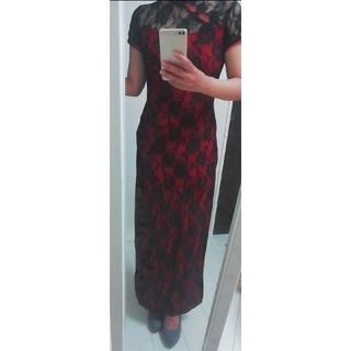 チャイナ風ロングドレス(その他ドレス)