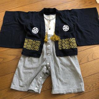 ベルメゾン(ベルメゾン)の袴ロンパース80(和服/着物)