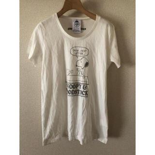 ノンブルアンベール(nombre impair)のnombre impair スヌーピー Tシャツ  (Tシャツ(半袖/袖なし))