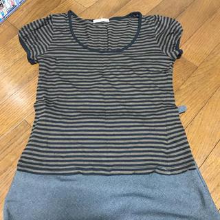 ルクールブラン(le.coeur blanc)のボーダーTシャツと(Tシャツ(半袖/袖なし))