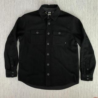 ナイキ(NIKE)の【希少/完売品】NIKE SB バファロー プラッド ウールシャツ ブラック(スケートボード)
