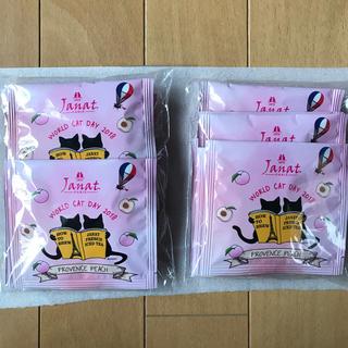 カルディ(KALDI)のカルディ 猫の日 janat  プロバンスピーチ 18袋(茶)