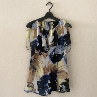 ビーシービージーマックスアズリア(BCBGMAXAZRIA)のBCBG♡デザインシャツ(シャツ/ブラウス(半袖/袖なし))