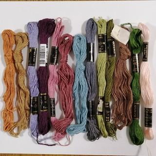 オリンパス(OLYMPUS)のbbあおさん専用刺繍糸 OLYMPUS 13本★10★オリムパス 刺しゅう糸 (生地/糸)