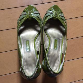 オゥバニスター(AU BANNISTER)のAU BANNISTER 靴(ハイヒール/パンプス)