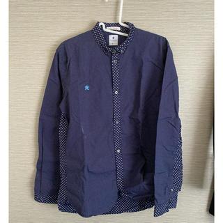 アールニューボールド(R.NEWBOLD)のR.NEWBOLD ワイシャツ RN-H5-86271 ネイビー(シャツ)