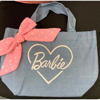 バービー(Barbie)のバービー BARBIE デニム ミニ トートバック✴︎新品未使用(トートバッグ)