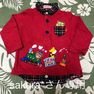 ミキハウス(mikihouse)のsakura*さん専用(Tシャツ(半袖/袖なし))