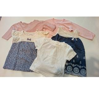 マーキーズ(MARKEY'S)の[マーキーズ新品] まとめ売り 80 子供服 女の子 ベビー 女の子 セット(Tシャツ)